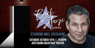 Backstage Series starring Mike Vecchione